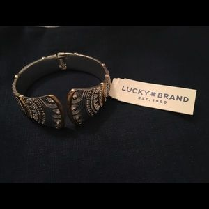 Cuff gold silver cuff bracelet from Lucky Brand ♥️